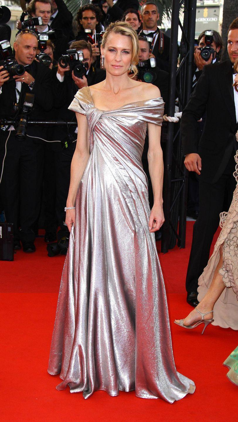 <p>Robin Wright in Elie Saab Haute Couture</p>