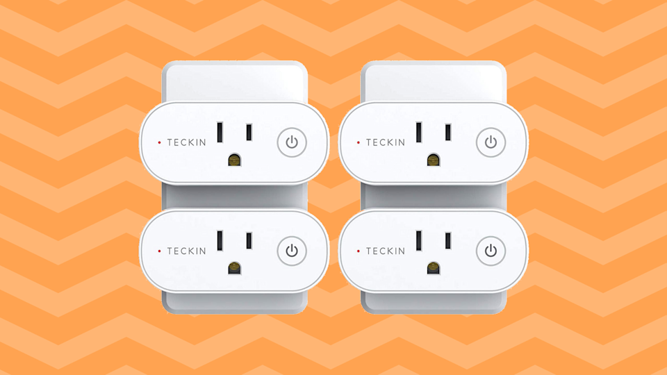 Save 46 percent on this Teckin Wi-Fi Smart Plug (four-pack). (Photo: Amazon)