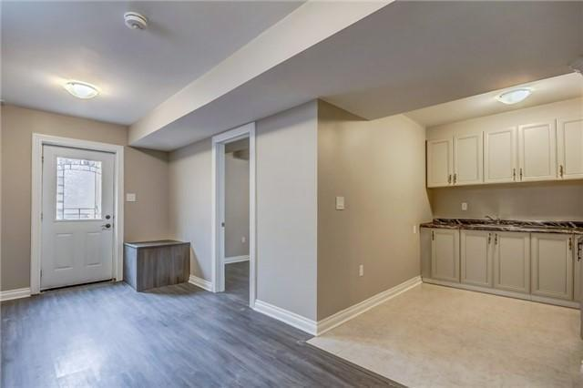 <p>6 William St., Brampton, Ont. The finished basement has the potential to become an in-law suite or legal rental unit. (Photo: Zoocasa) </p>