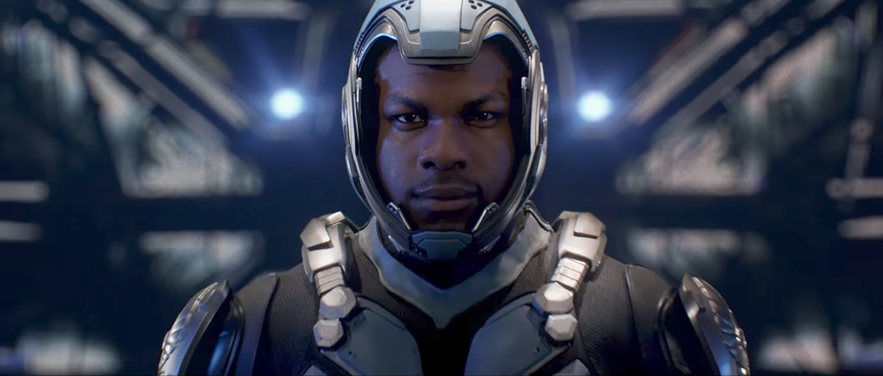<p>Sequel to Guillermo del Toro's original, featuring John Boyega piloting a massive robot designed to smash up monsters. </p>