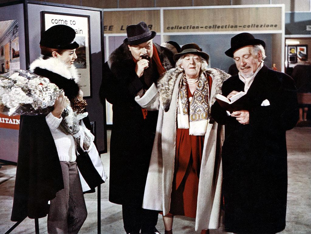"""Best Supporting Actress Winner - Margaret Rutherford, 71, """"The V.I.P.s"""""""