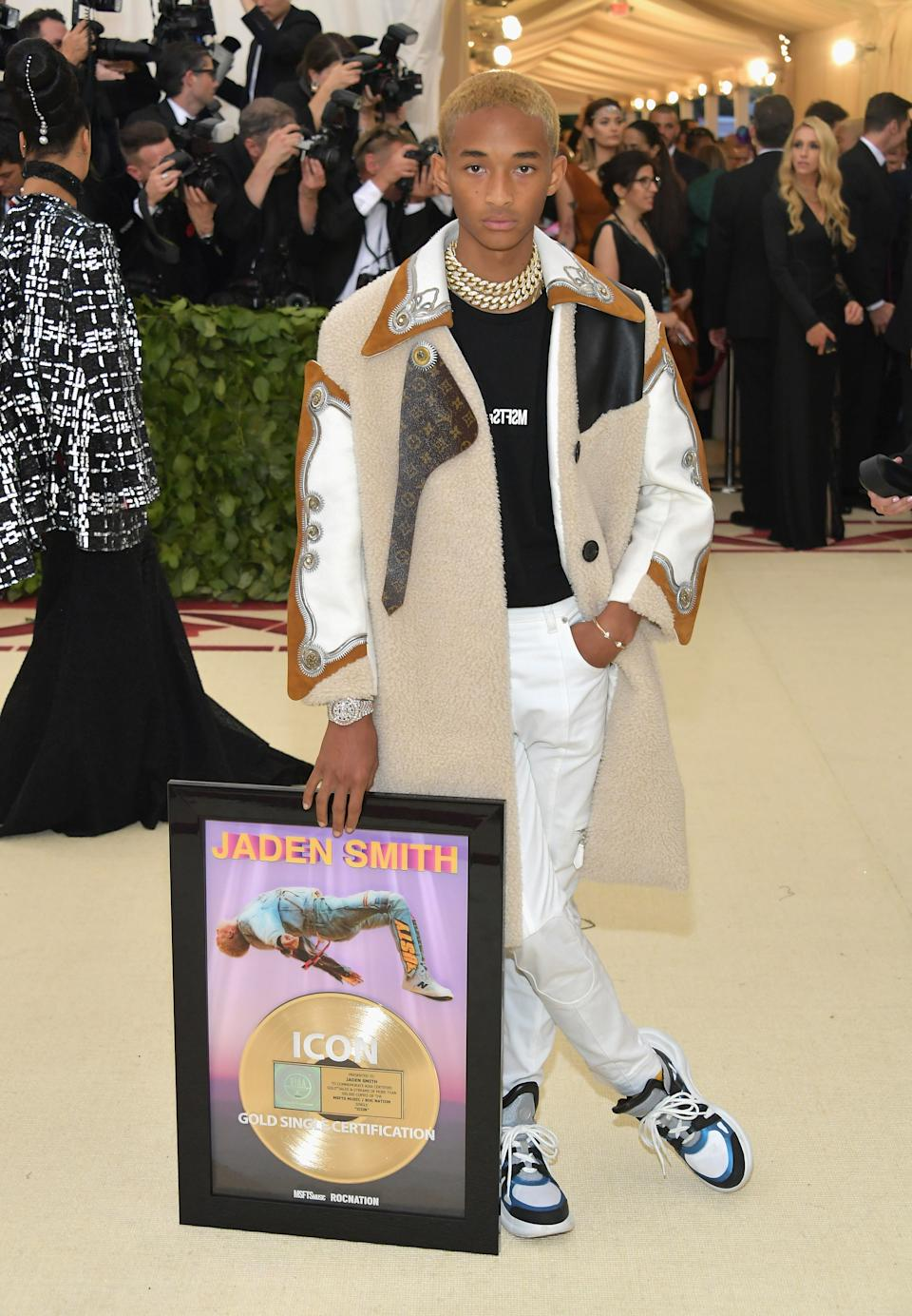 """<h1 class=""""title"""">Jaden Smith in Louis Vuitton</h1><cite class=""""credit"""">Photo: Getty Images</cite>"""