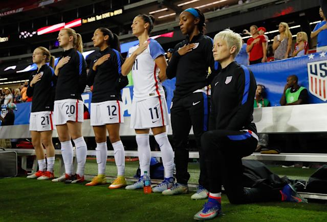 U.S. Soccer Bans Kneeling During the Anthem Like Donald Trump Wants for the NFL