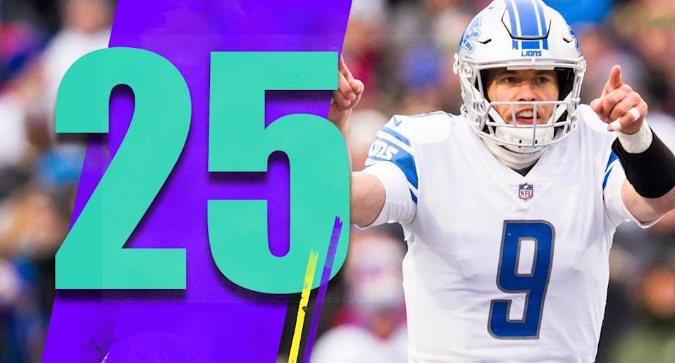 <p>How much of this miserable season is on Matthew Stafford? Put blame on the coaches and Stafford's bad supporting cast, but he has to be better than this. (Matthew Stafford) </p>
