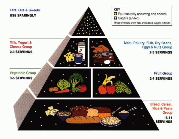 The 1992 Food Guide Pyramid (RIP)