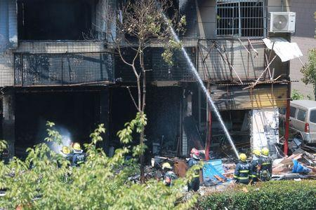 Two killed in China shop blast