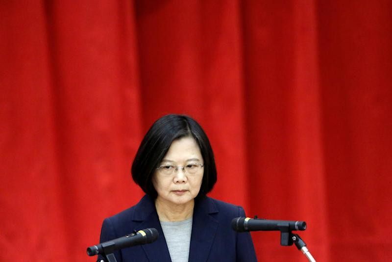 Taiwan's president says no to 'one country, two systems' ahead of elections