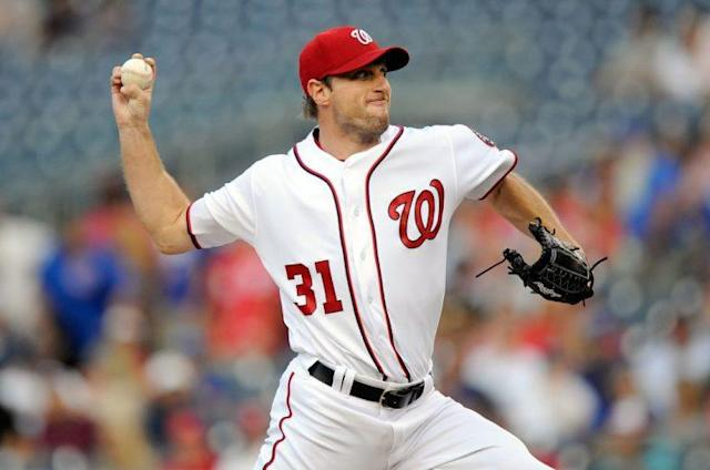 "<a class=""link rapid-noclick-resp"" href=""/mlb/players/8193/"" data-ylk=""slk:Max Scherzer"">Max Scherzer</a> and other highlights in recent fantasy baseball (Getty Images)"