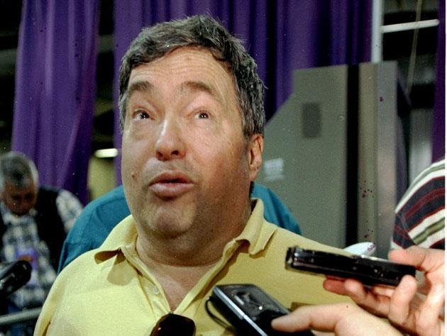 Jerry Krause, in 1997. (Getty Images)