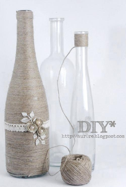 How To Decorate Old Bottles Beauteous 12 Cool Ways To Use Those Empty Wine Bottles Design Decoration