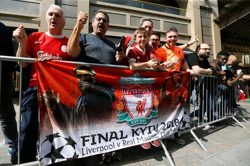 Champions League - Fans In Kiev Ahead Of The Champions League Final