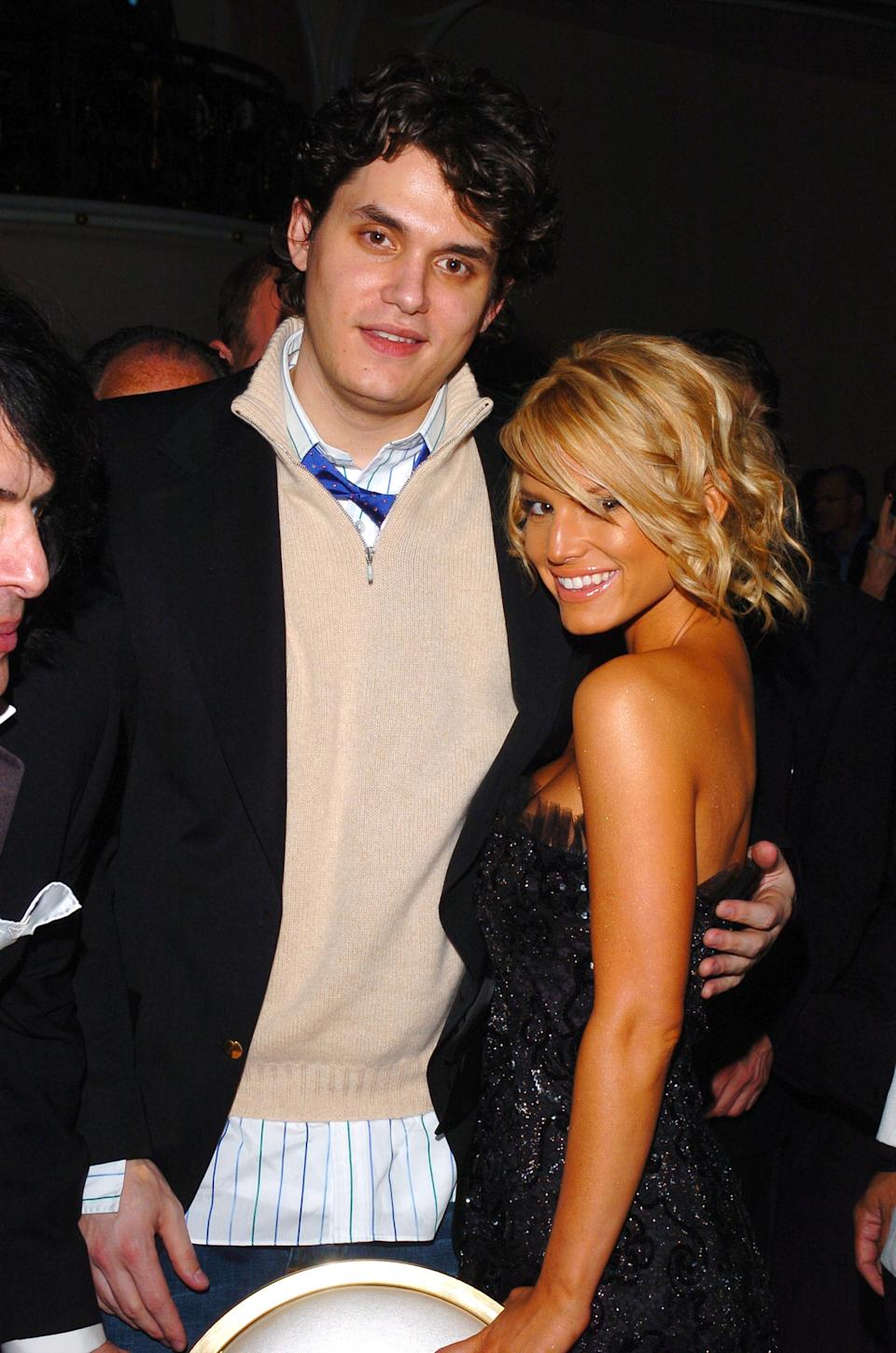 (EXCLUSIVE, Premium Rates Apply) John Mayer and Jessica Simpson (Photo by L. Cohen/WireImage for J Records)