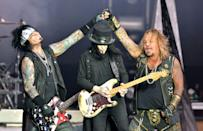 <p>The Crüe had a rough time in the '90s. They broke up, then reunited, then performed with a different drummer and lead singer. They reunited in 2004, and despite insisting they were retiring from touring in 2015, the band is slated to tour in 2022 with Def Leppard and Poison.</p>