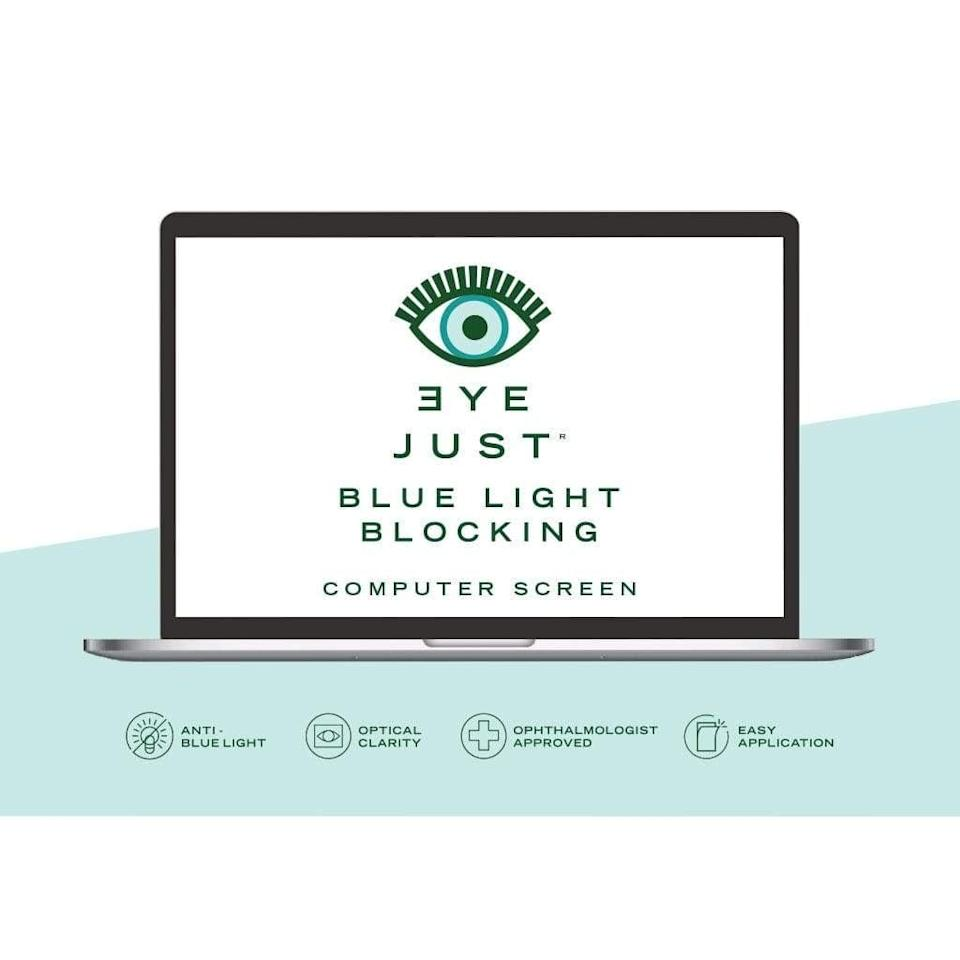 """<p>Regardless of what you're watching or working on on your laptop, make sure you protect your eyes and skin with the <a href=""""https://www.popsugar.com/buy/Eyejust-Blue-Light-Blocking-Computer-Screen-571144?p_name=Eyejust%20Blue%20Light%20Blocking%20Computer%20Screen&retailer=eyejust.com&pid=571144&price=56&evar1=fit%3Aus&evar9=47444628&evar98=https%3A%2F%2Fwww.popsugar.com%2Ffitness%2Fphoto-gallery%2F47444628%2Fimage%2F47444642%2FEyeJust-Blue-Light-Blocking-Computer-Screen&prop13=mobile&pdata=1"""" class=""""link rapid-noclick-resp"""" rel=""""nofollow noopener"""" target=""""_blank"""" data-ylk=""""slk:Eyejust Blue Light Blocking Computer Screen"""">Eyejust Blue Light Blocking Computer Screen</a> ($56).</p>"""