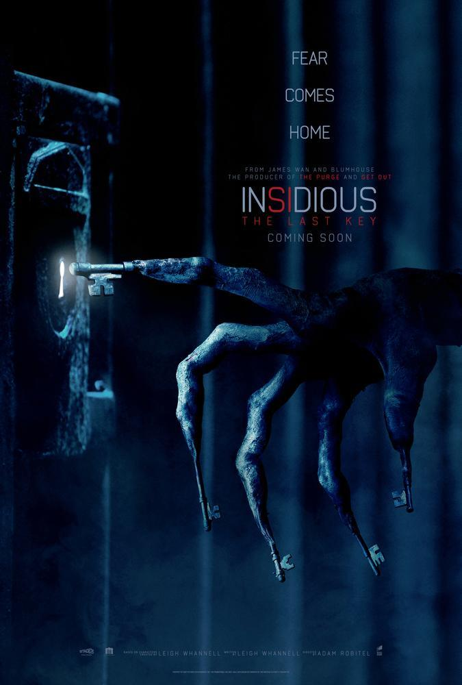 Insidious: The last Key gets a cool new poster – Credit: Sony