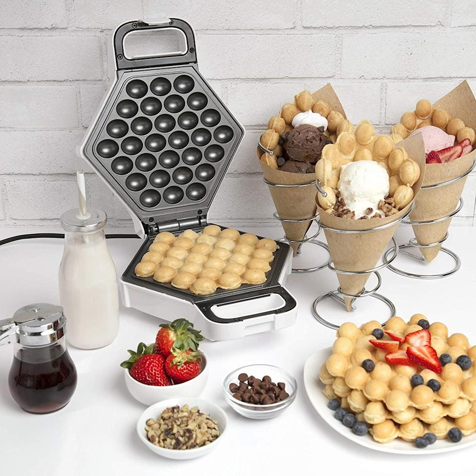 <p><span>Bubble Waffle Maker</span> ($28, originally $60)</p>