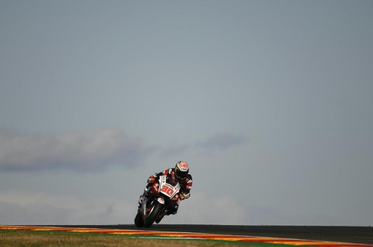 Takaaki Nakagami has an outside chance in the MotoGP championship