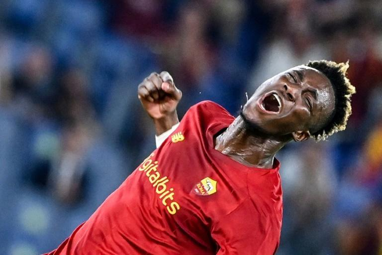 Tammy Abraham set up Roma's first two goals on his Serie A debut