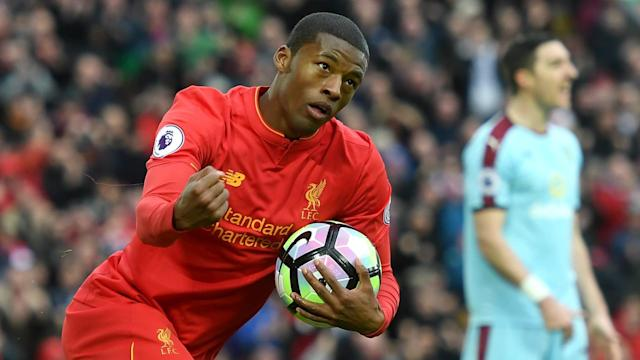 HD Gini Wijnaldum Liverpool v Burnley
