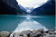 <p>A serene moment in Banff National Park (Lake Louise, Canada) // 2003</p>