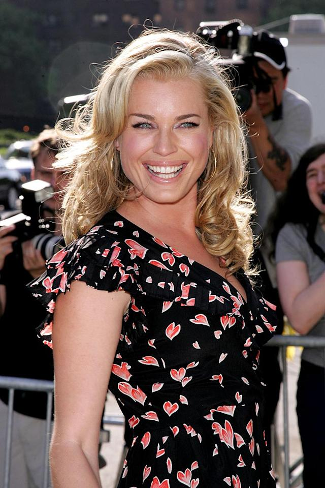 "Model-turned-actress Rebecca Romijn still knows how to strike a picture-perfect pose. James Devaney/<a href=""http://www.wireimage.com"" target=""new"">WireImage.com</a> - May 15, 2007"