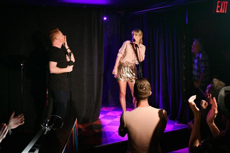 Taylor Swift delights fans with surprise performance at LGBT landmark in New York City