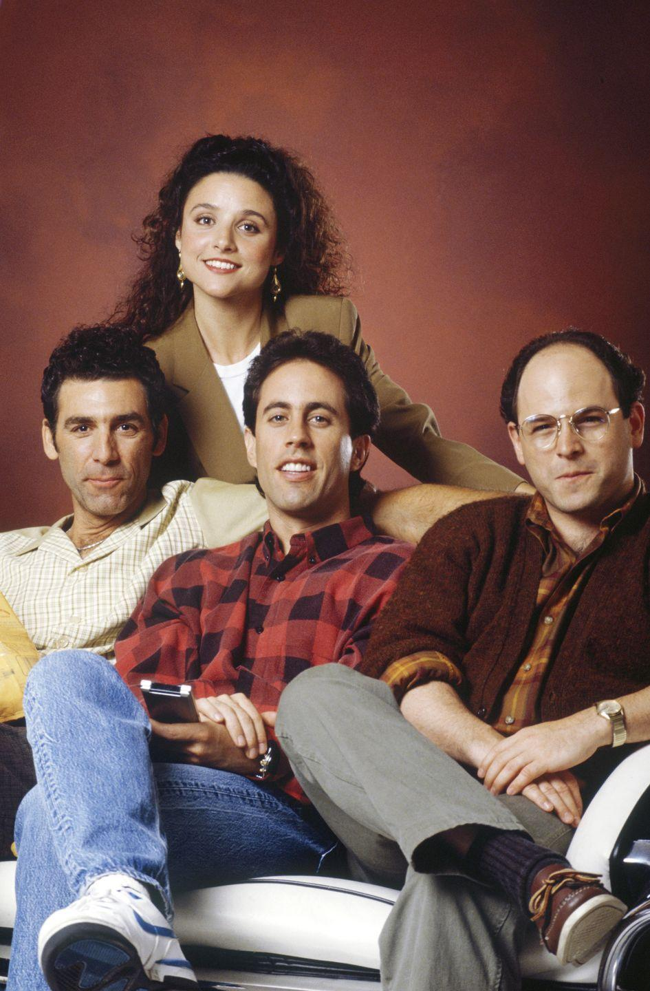 "<p><em>Seinfeld</em> kept cranking out the jokes, and people kept whipping them out practically everywhere. ""No soup for you!"" was hilarious...the first 10 times you heard it.</p>"