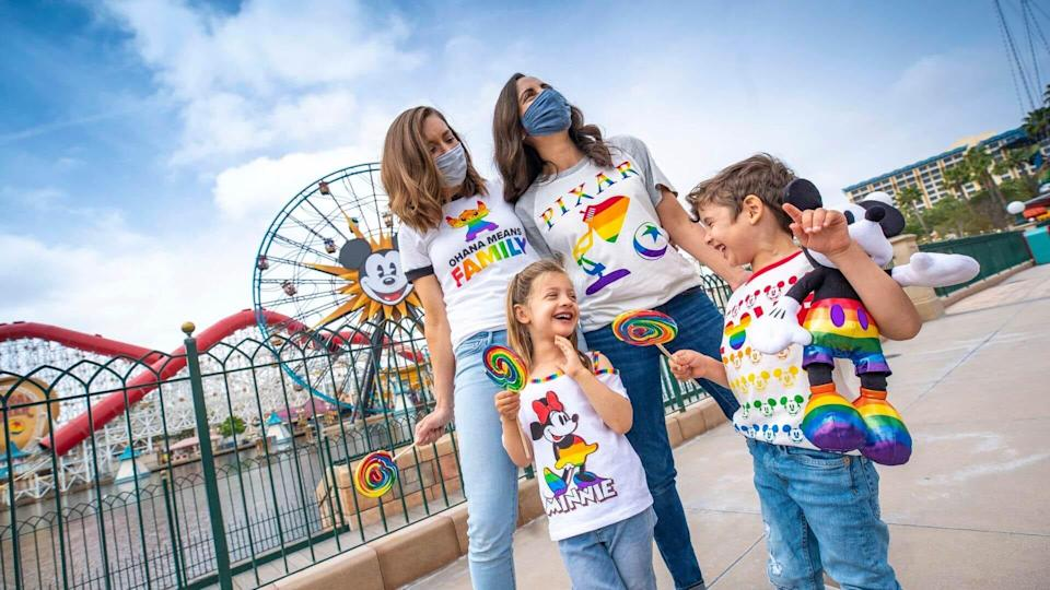 Celebrate love and Disney with the Rainbow Disney collection.