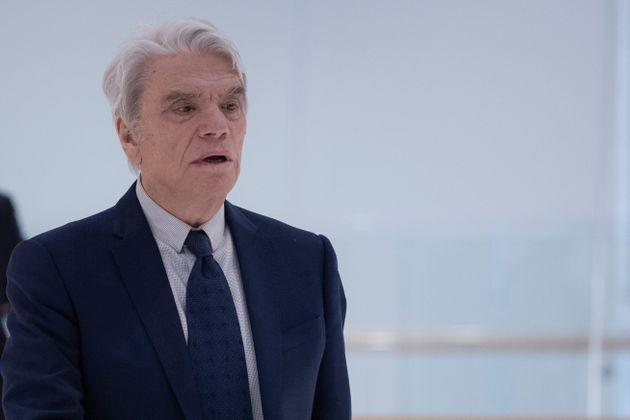 French businessman Bernard Tapie leaves after a suspension of his trial for having defrauding French state of nearly half a billion euros with a massive 2008 arbitration award, at the Paris courthouse on March 21, 2019. - The 76-year-old former minister, who rose from humble beginnings to build up a sporting and media empire that once included the Olympique de Marseille (OM) football club, is one of six people on trial in the latest chapter of a two-decade legal saga that has ensnared a slew of senior officials, including ex-president. It centres on a payment of 404 million euros ($454 million) awarded to Tapie by an arbitration panel to settle a dispute over the state's sale of Adidas, the German sporting goods company which Tapie briefly owned. (Photo by KENZO TRIBOUILLARD / AFP)        (Photo credit should read KENZO TRIBOUILLARD/AFP via Getty Images) (Photo: KENZO TRIBOUILLARD via Getty Images)