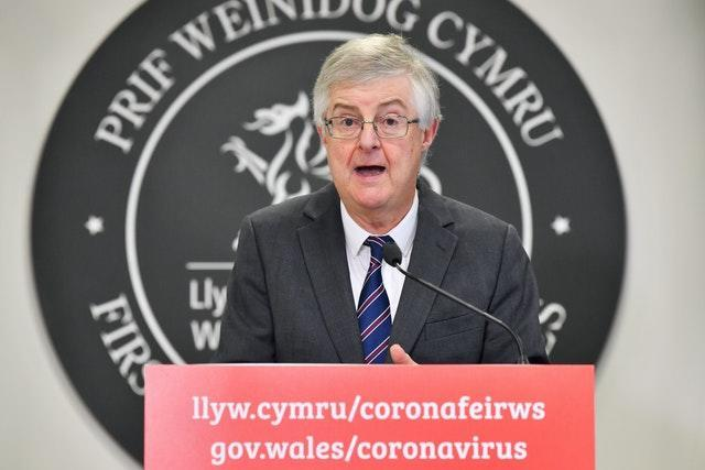 First Minister Mark Drakeford gives an update on Wales' two-week 'firebreak' lockdown