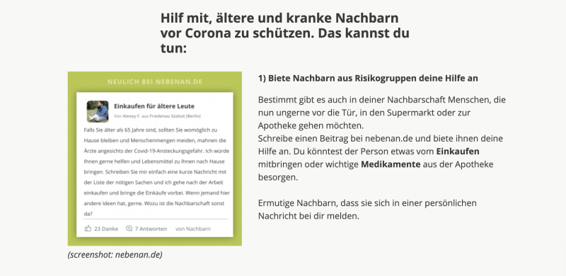 Screenshot.nebenan.de
