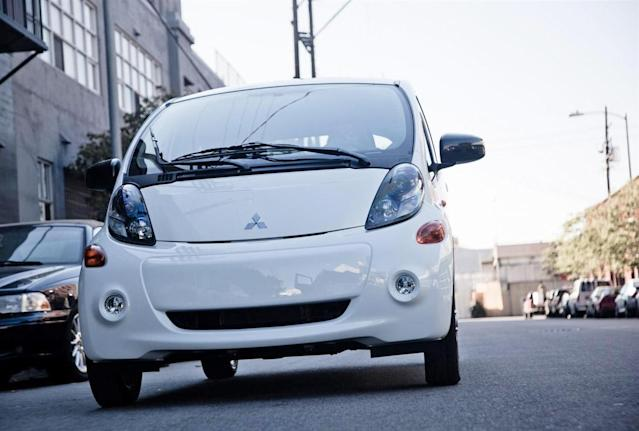"""<b>Worst Electric/Alternative-Fuel Vehicle - <a href=""""http://autos.yahoo.com/mitsubishi/i-miev/2012/"""" data-ylk=""""slk:2012 Mitsubishi i-MiEV"""" class=""""link rapid-noclick-resp"""">2012 Mitsubishi i-MiEV</a></b>: Yes, they really do sell the Mitsubishi i-MiEV in this country. Yes, you really can drive it places besides the 18th fairway or the controlled confines of the Shady Pines retirement village. Yes, it really is that terrible and embarrassing to drive.<br><br>Go beyond that, as well as the dime-store interior, and you'll find an electric vehicle with less range than every other solely battery-powered car. It can only go 62 miles on a full charge, which is roughly the distance-to-empty that triggers most drivers to start searching for the closest Shell. Plus, the i-MiEV takes longer to recharge than its rivals. True, this Mitsubishi city car is the least expensive EV on the market, but its price tag of $20,000 (including the $7,500 tax rebate) speaks to its cheapness rather than its value.<br><br>With cars like the Tesla Model S, Ford Focus Electric and Nissan Leaf, we know that electric vehicles can be viable. The i-MiEV gives them all a bad name."""