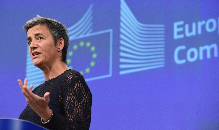 The European Union has recentlyfiled new anti-trust charges against Google, piling pressure on the US tech giant over the alleged abuse of its market dominance. (AFP Photo/John Thys)