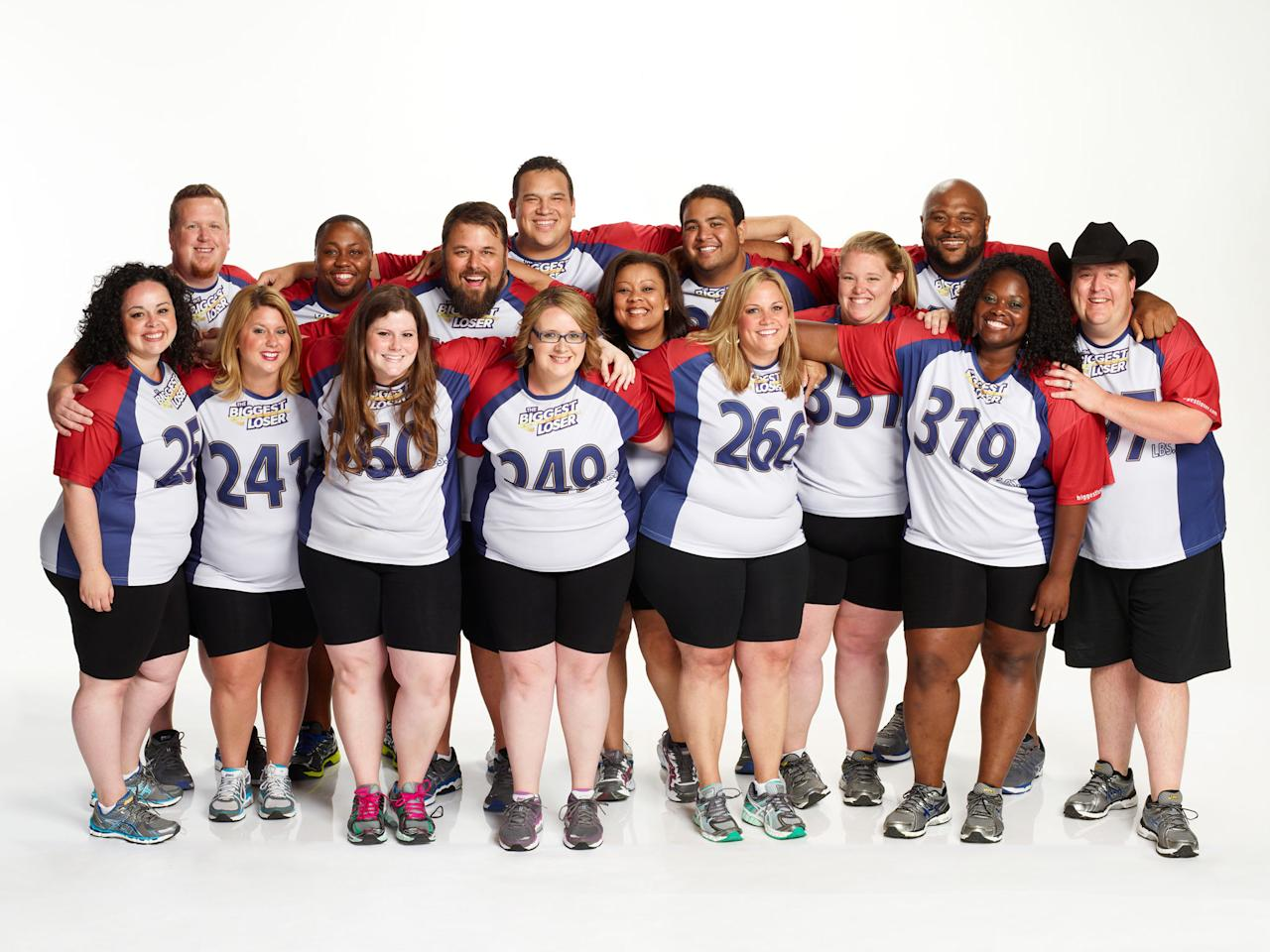 "The contestants of NBC's ""The Biggest Loser"" Season 15."