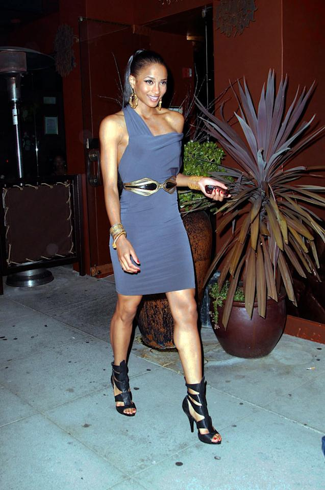 "Ciara has certainly stepped up her game. With a new album set to drop in October, a clothing line secured for Steve and Barry's, and a crisp contract with Wilhelmina Models, the R&B songbird is prepared for flight. BigFive-Shawn/<a href=""http://www.x17online.com"" target=""new"">X17 Online</a> - June 25, 2008"