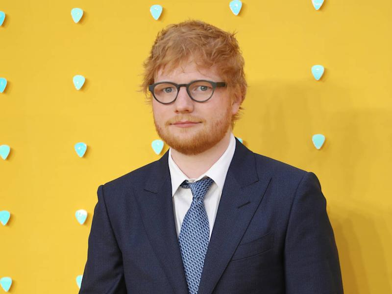 Ed Sheeran raises over $4,000 for charity with signature ketchup bottle auction