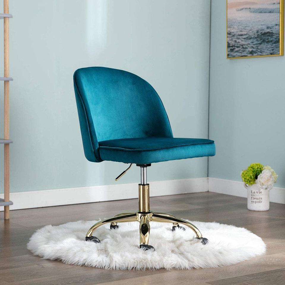 <p>This <span>Adjustable Round Back Office Chair</span> ($116) is an awesome purchase.</p>