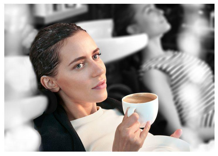 People are using coffee as hair color. (Photo: Getty Images)