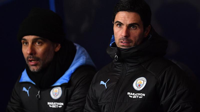 Guardiola on Arteta move: I wish him all the best