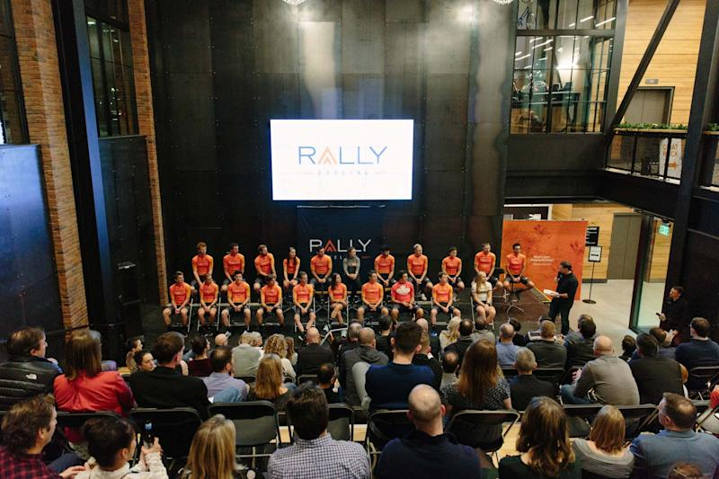 Rally Health's downtown Minneapolis office hosted the team.