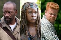 <p>a. Morgan<br>b. Michonne<br>c. Abraham<br><br>(Photo: AMC) </p>