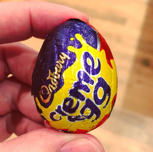 Simple but effective: look at the ingredients list which will say white chocolate. Photo: Instagram/adamgray74