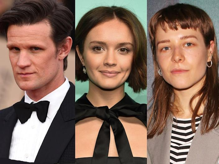 Matt Smith Olivia Cooke Emma D'Arcy Getty Images AP