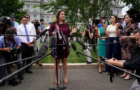 Press Secretary Sarah Sanders To Leave The White House