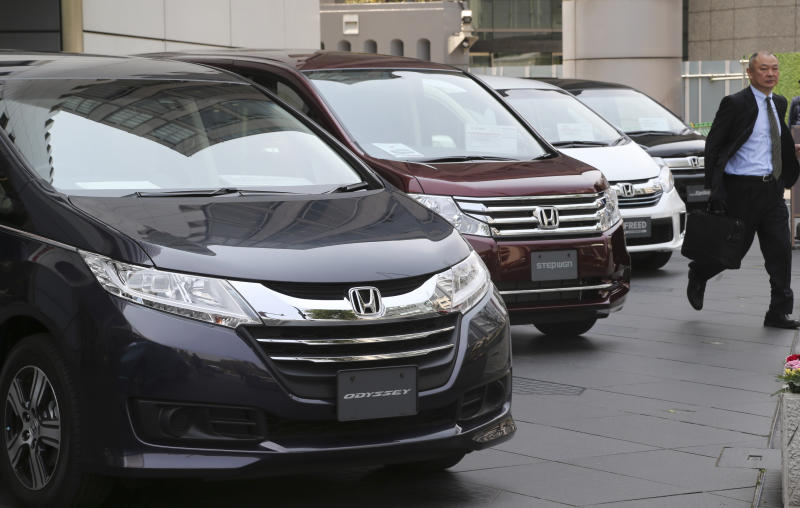 Honda's profit doubles on weak yen, strong sales