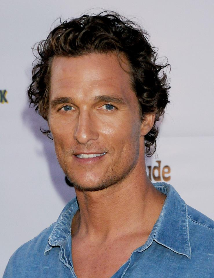 "<a href=""http://movies.yahoo.com/movie/contributor/1800018907"">Matthew McConaughey</a> at the Los Angeles premiere of <a href=""http://movies.yahoo.com/movie/1809878352/info"">Surfer Dude</a> - 09/10/2008"