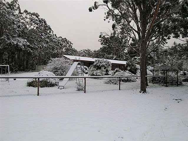 More of Stanthorpe blanketed in snow in 2015. Source: AAP