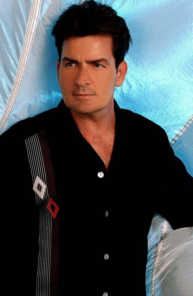 Charlie Sheen stars as Charlie Harper in Two and a Half Men.