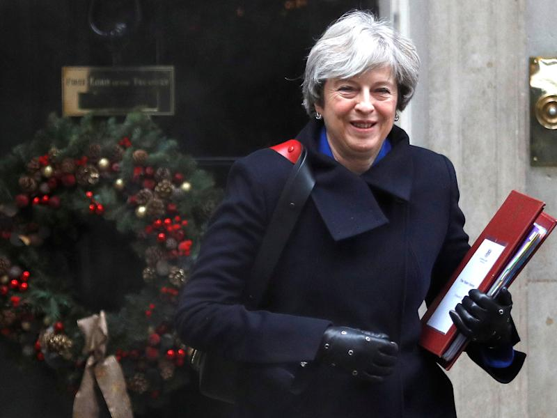 Theresa May's party could lose two of its nine councils in London in spring, and be left clinging to a further three, according to the election expert: Reuters