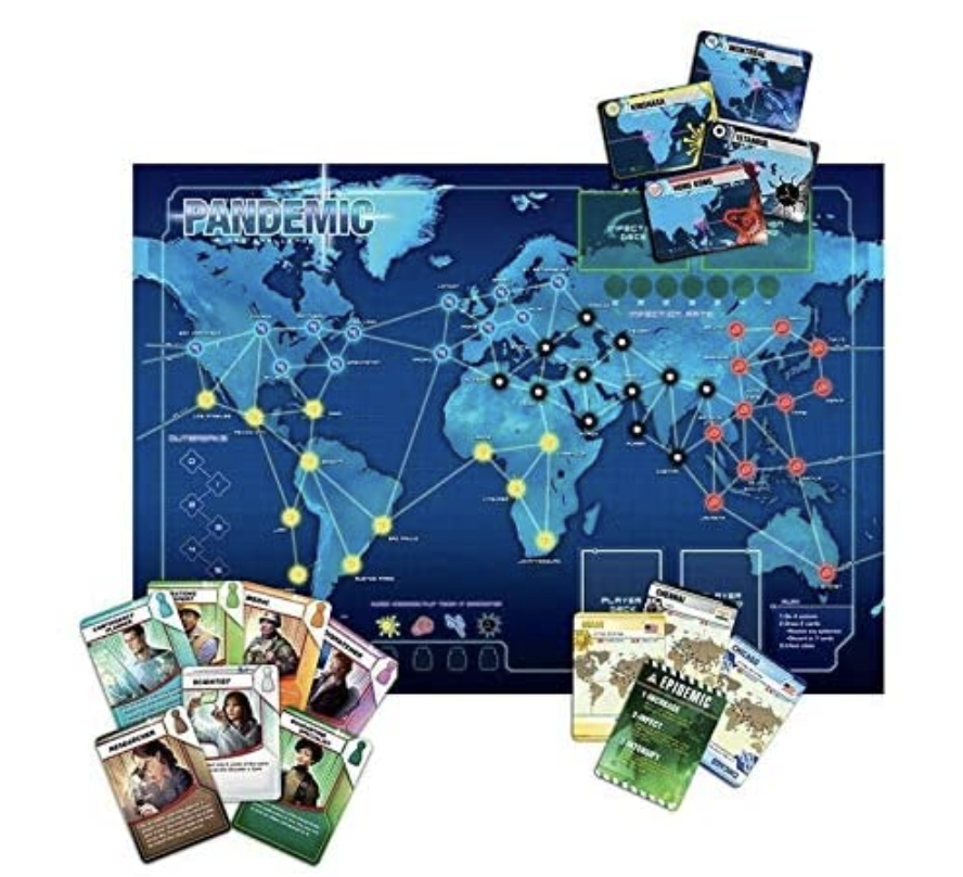 Pandemic Interactive Card Game. PHOTO: Amazon